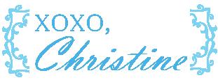 XOXO, Christine