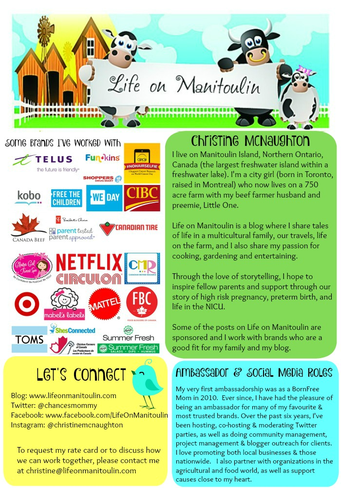 Life on Manitoulin Media Kit