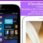 WIN a BlackBerry Q5 OR Samsung Galaxy Note 8 #TelusBack2School Event