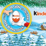 Sharing Joy During the Holidays ~ Kinder Canada #KinderMom