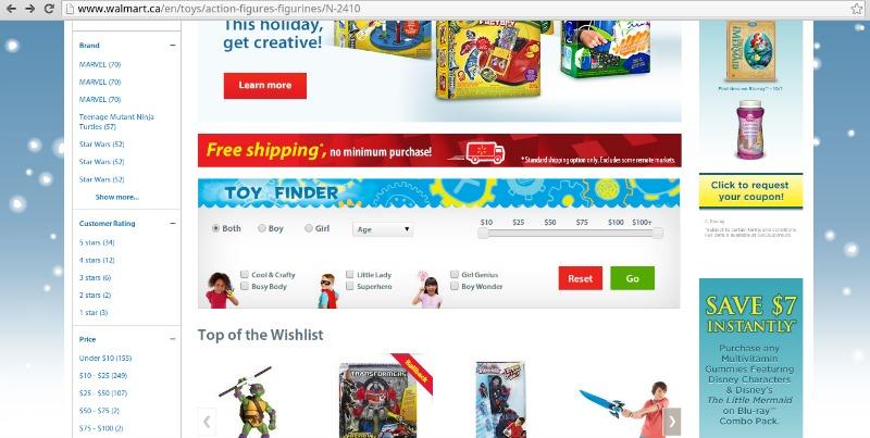 walmart toy finder