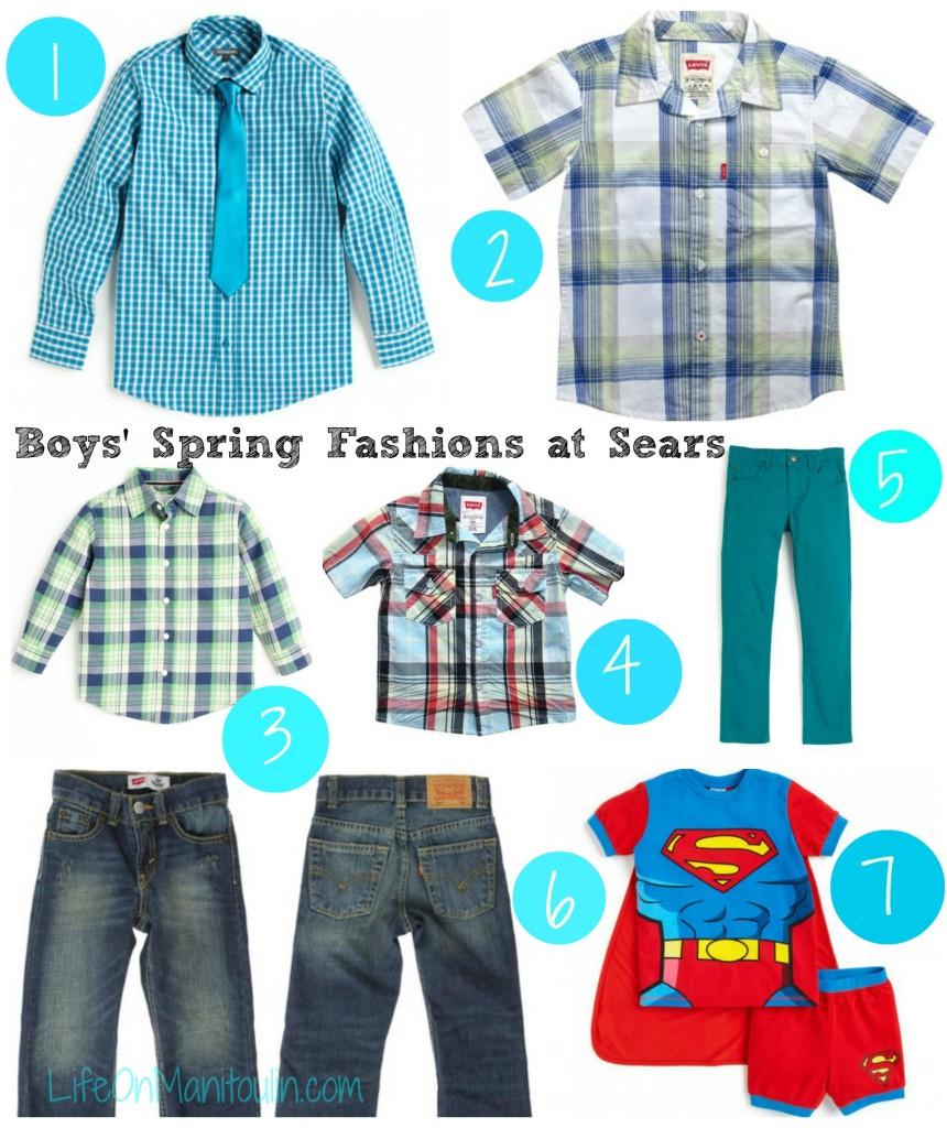 Sears Boys Clothes