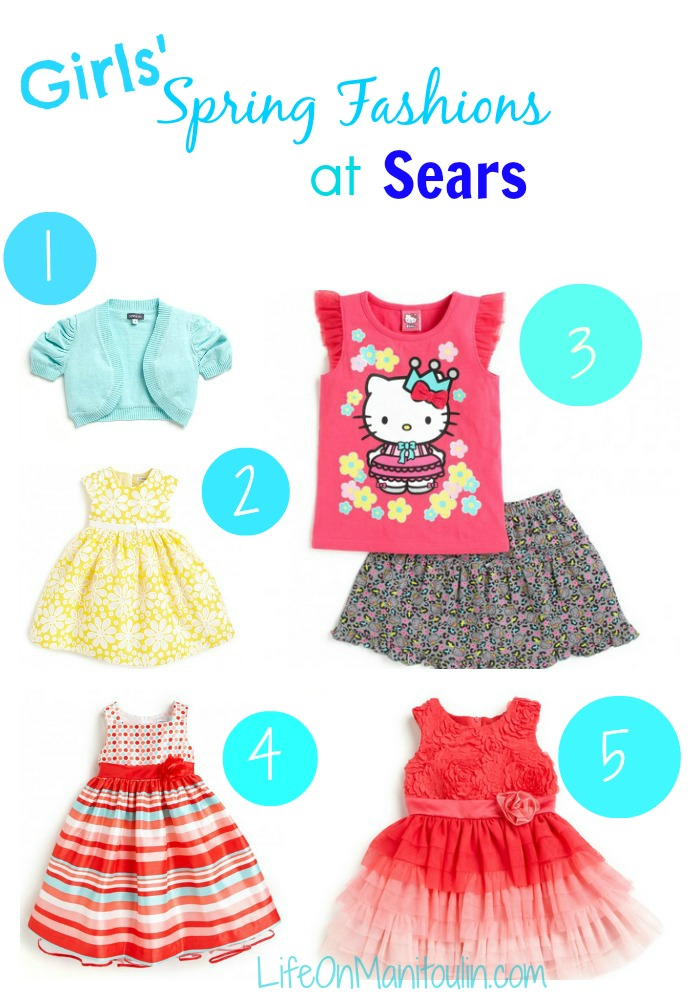Sears Girls Clothes