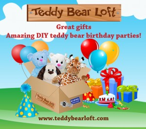 teddy bear loft box