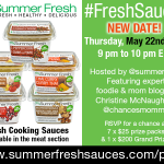 Gearing up for BBQ Season with Summer Fresh Sauces! #FreshSauces Twitter Party!