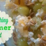 Refreshing Summer Salad: Pineapple-Green Grape Cottage Cheese Salad