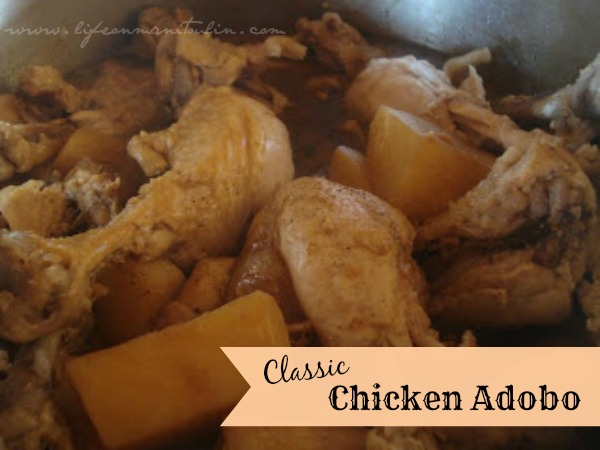 Do you prefer family recipes handed down from your grandparents, parents, aunts, and uncles like this Chicken Adobo recipe?