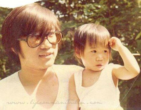 Dad and me ~ Best Buddies (circa 1976)