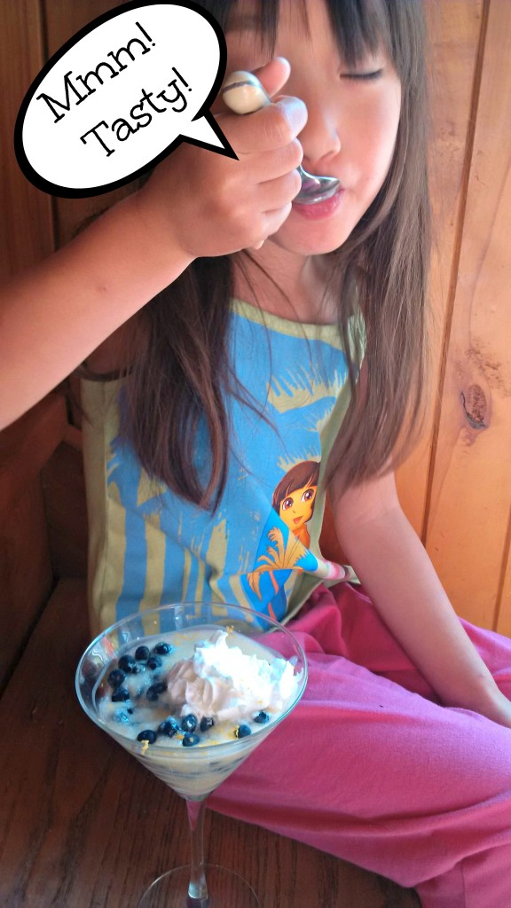 Blueberry Lemon Tapioca Pudding