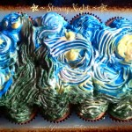 Starry Night ~ Cupcake Art