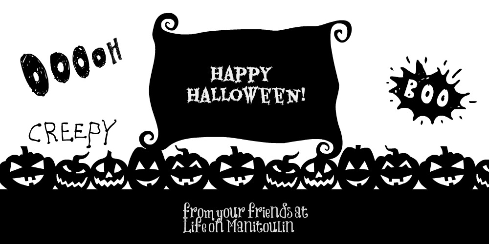 Halloween Life on Manitoulin