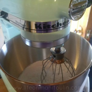 Thankful for kitchen aid stand mixer