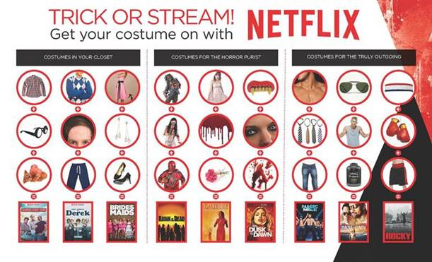 what will you be dressing up as for halloween do you have any halloween favourites on netflix