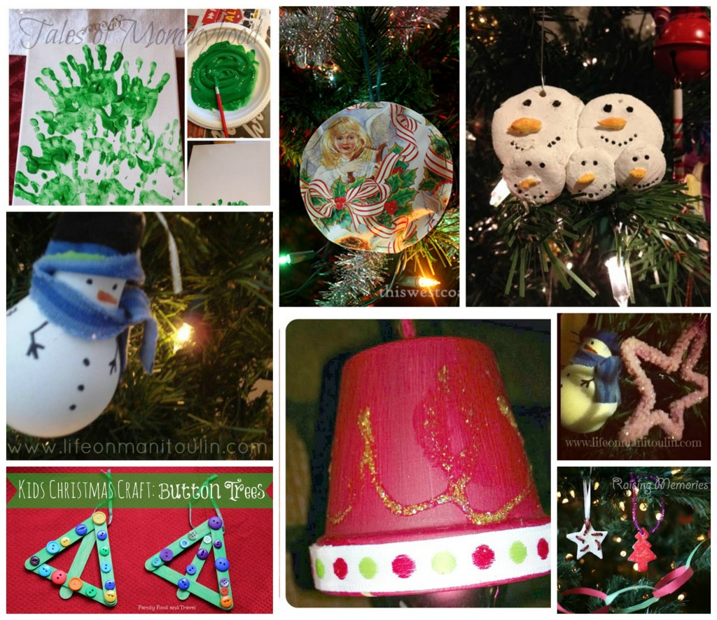Kid Friendly Christmas Ornaments