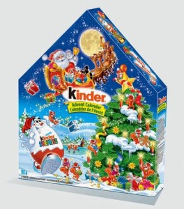 Kinder Canada Advent Calader