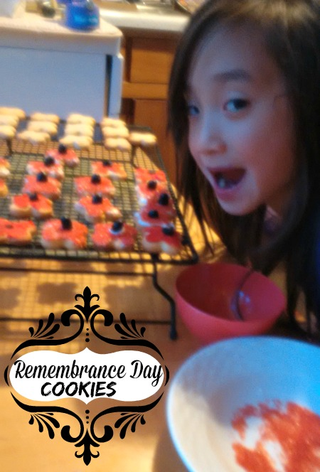 Remembrance Day Cookies 1