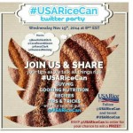 Talking About All Things Rice! #USARiceCan Twitter Party