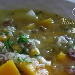Harvest Vegetable, Beef and Rice Soup