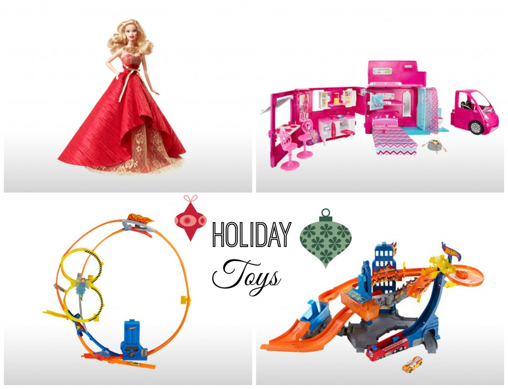 Mattel Holiday Toys 2014