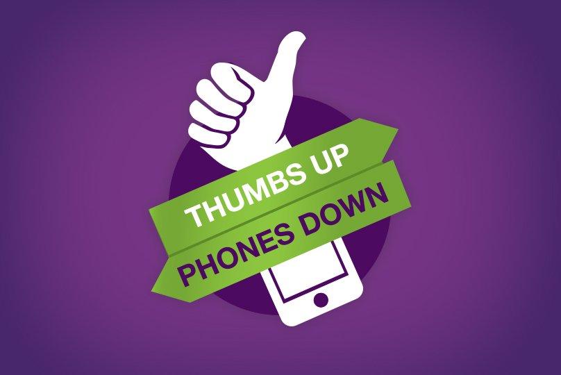 thumbsupphonesdown