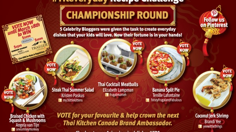 CANADA VOTES! Thai Kitchen #TKeveryday Recipe Challenge