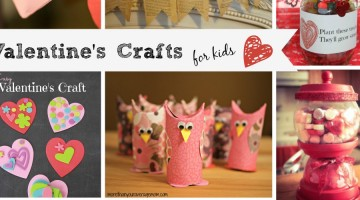 Valentine's crafts cover