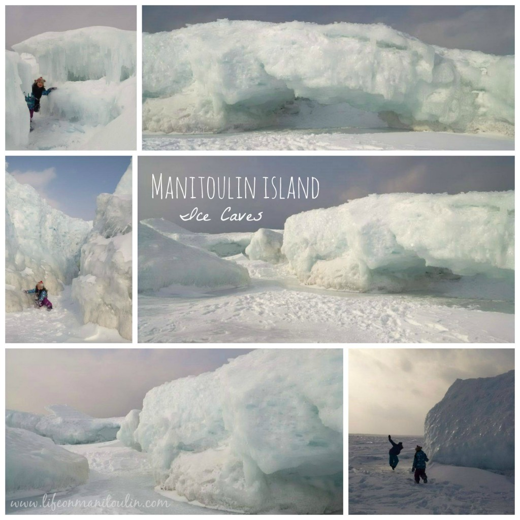 Ice Caves Collage