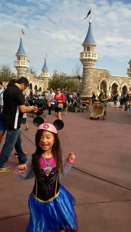 Seriously Happy Disney Kid