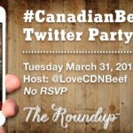 Canadian Beef Twitter Party! #CanadianBeefApp