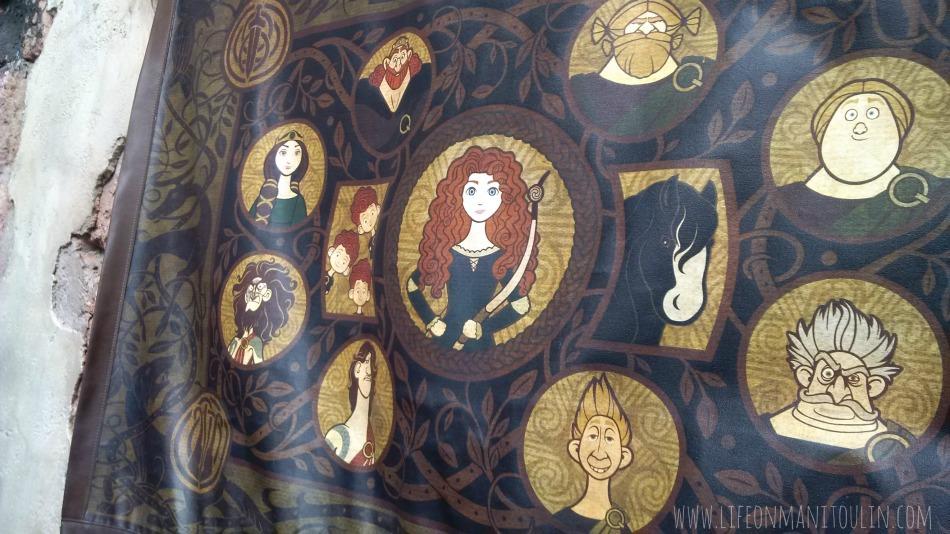 merida tapestry disney