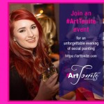 Express yourself with #ArtTonite through cocktail inspired painting in Toronto!