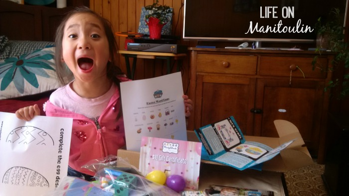 Can you tell that someone is just a little excited about her monthly Curiosity Box?