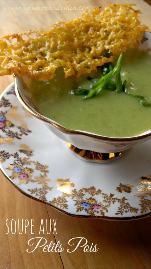 Petit Pois Soup