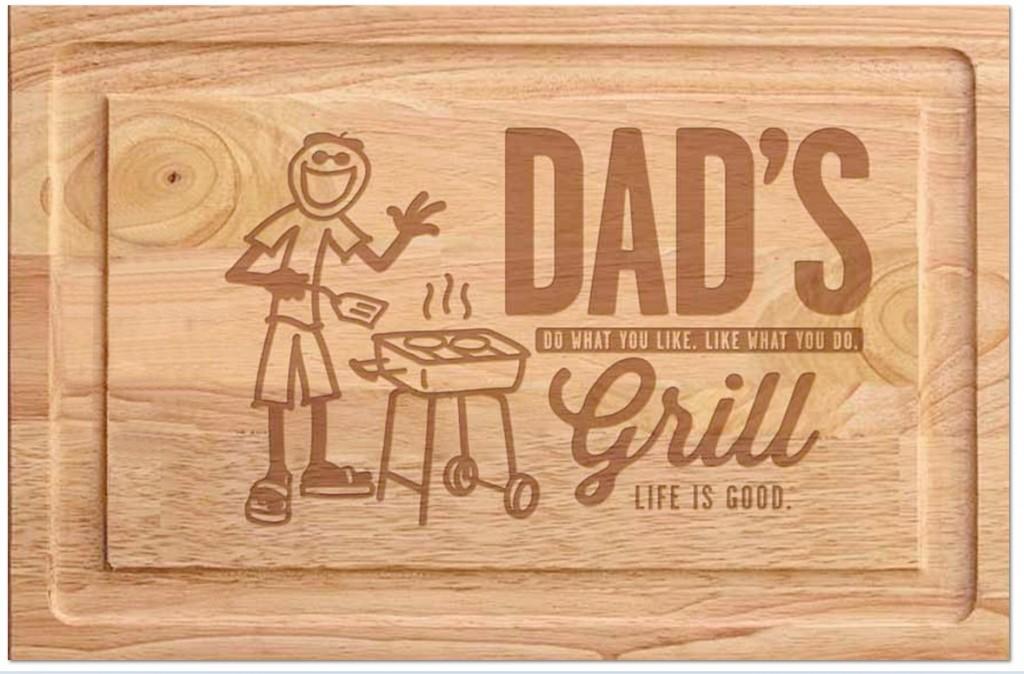 Dad cutting board