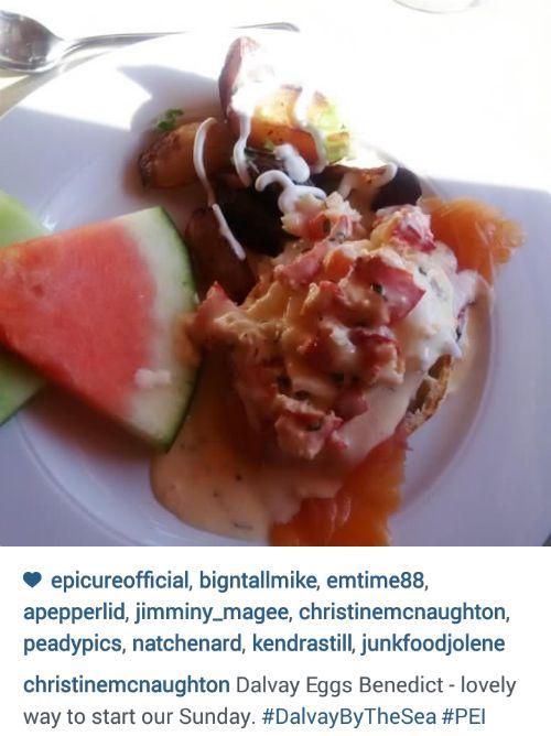 Dalvay breakfast