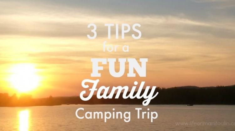 3 Tips for a Fun Family Camping Trip #WoodsExplorer
