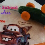 Fun school snacks inspired by Disney & GLAD