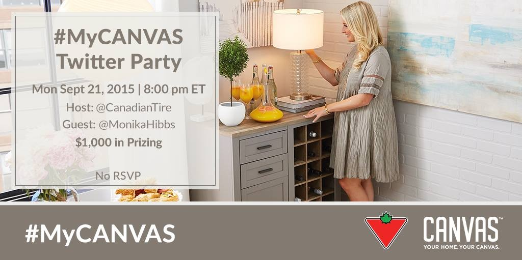 my canvas party