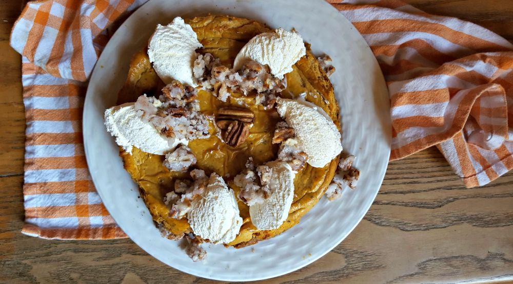 pumpkin praline cheesecake 1