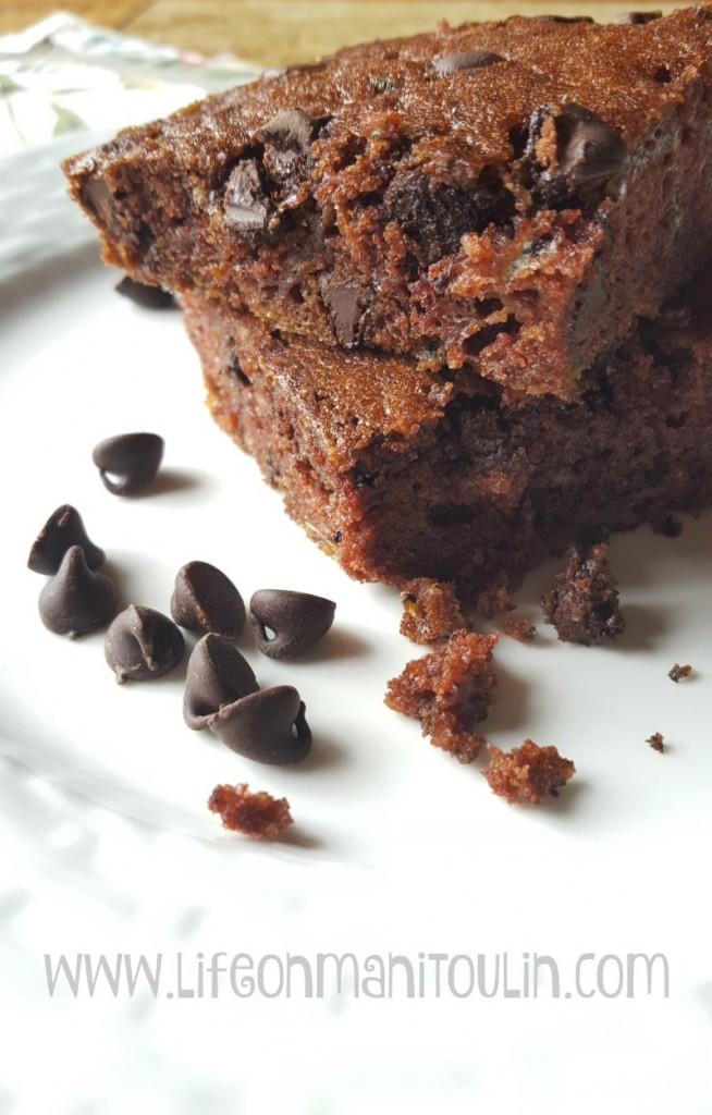 chocolate zucchini cake 2