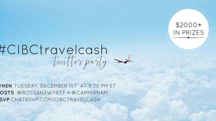 CIBC Foreign Cash Online & #CIBCTravelCash Twitter Party