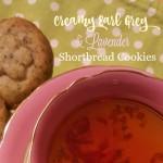 Creamy Earl Grey & Lavender Shortbread Cookies