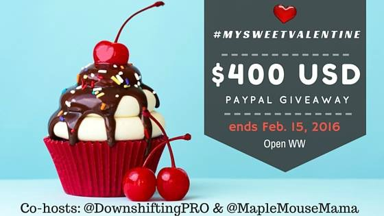 sweet  valentine paypal giveaway