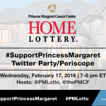 Support Princess Margaret & Help Support Cancer Research. #SupportPrincessMargaret Twitter & Periscope Party