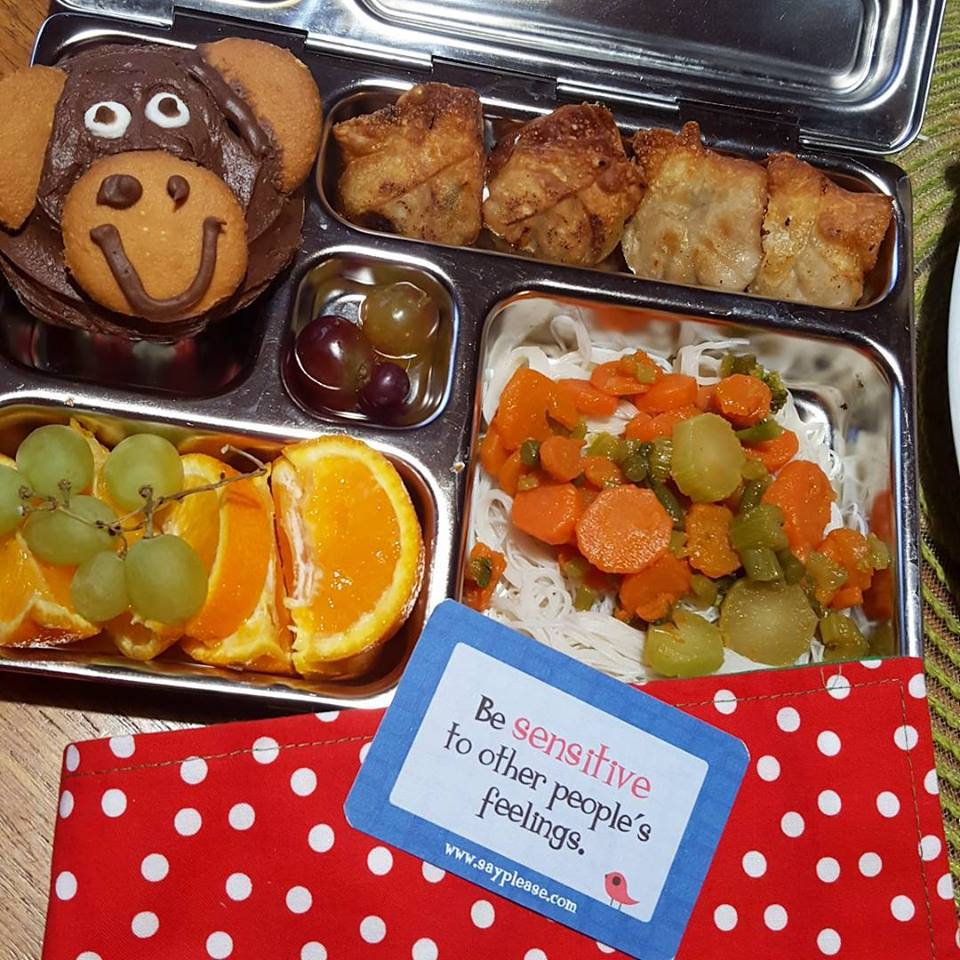 year of the monkey school lunch