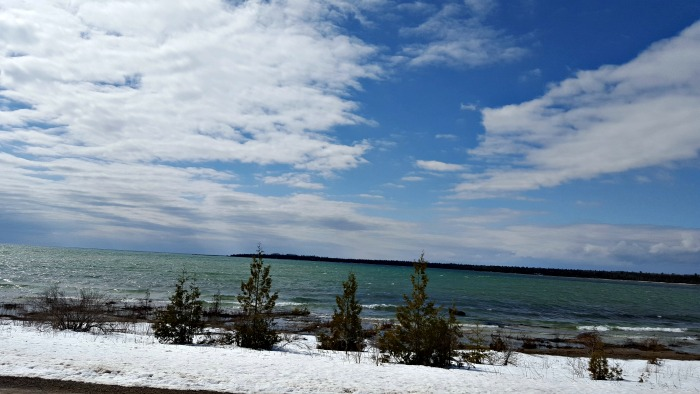Spring on Manitoulin is such a tease. Counting down the days until it warms up and we can go for a swim! The beaches are so inviting in the Summer!