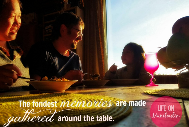 the importance of having dinner together with families