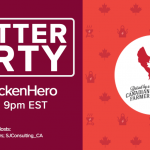 Celebrating Canada Day with Chicken Farmers #MPChickenHero Twitter Party