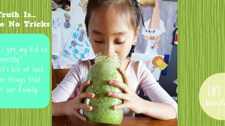 Getting My Child to Eat her Food: The Truth Is…I Have No Tricks!