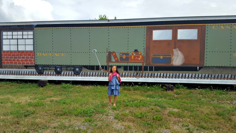 Northern Ontario Railroad Museum outside
